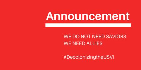 We don't need saviors. We need allies.